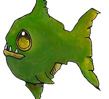 Green Zombie Fish by Cantus