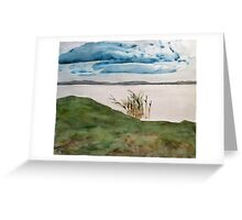 lakeside reeds Greeting Card
