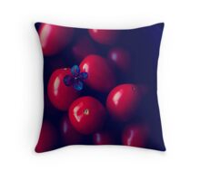 cherry tomatoes Throw Pillow
