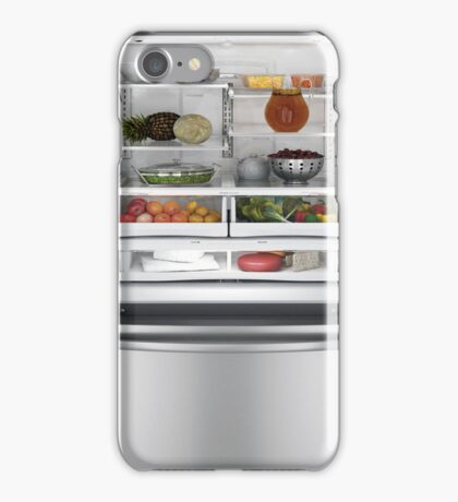 Funny Inside My Open Refridgerator iPhone Case/Skin