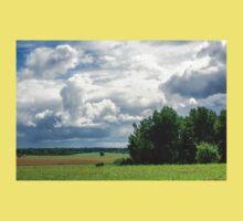 Beautiful landscape in Latvia Kids Tee