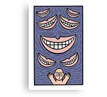Grin Canvas Print