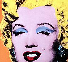 Marilyn Monroe Sexy Pop Art by PhuniPhone