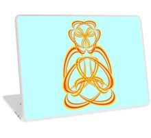 Buda yellow/orange Laptop Skin