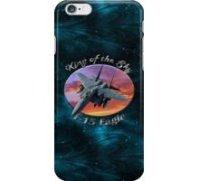 F-15 Eagle King Of The Sky iPhone Case/Skin