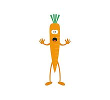 Carrot man by ilovecotton