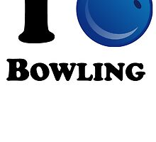 I Heart Bowling by kwg2200