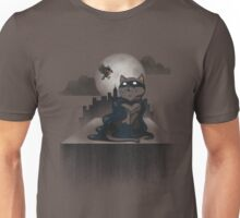 Cat Man and a Robin Unisex T-Shirt