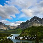 Many Glacier by Luann wilslef
