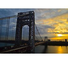 GWB in the Morning ... Photographic Print