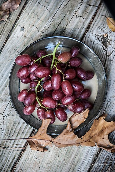 Now Serving Grapes by Jessica Manelis