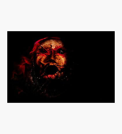 The Evocation of Evil Photographic Print