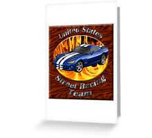 Dodge Viper United States Street Racing Team Greeting Card