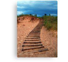 Dune Climb Canvas Print
