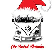 VW Camper Air Cooled Christmas by splashgti