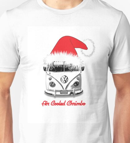 VW Camper Air Cooled Christmas Unisex T-Shirt