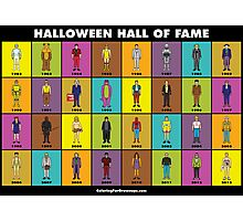 Halloween Hall of Fame POSTER Photographic Print