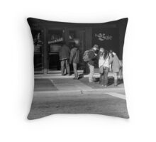 Tourist attraction Throw Pillow