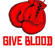 Give Blood Boxing by kwg2200
