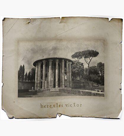 Hercules Victor Poster