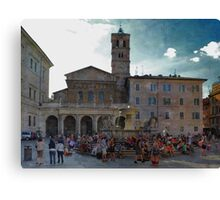 Santa Maria in Trastevere Canvas Print