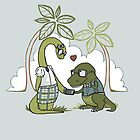DiNERDsaur Love by JessieSima