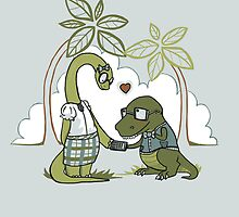 DiNERDsaur Love by Jessie Sima