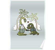 DiNERDsaur Love Poster