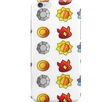 Gym Badge selection iPhone Case/Skin
