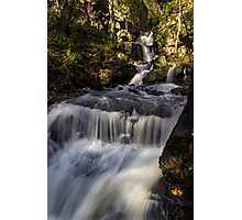 Cascades at Lumsdale Falls Photographic Print