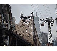 Roosevelt Island Tram, Queensboro Bridge, Roosevelt Island, New York City Photographic Print
