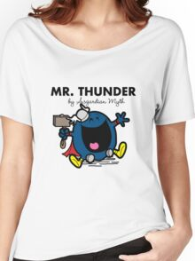Mr Thunder Women's Relaxed Fit T-Shirt