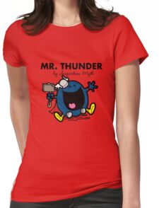 Mr Thunder Womens Fitted T-Shirt