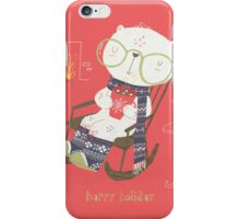 Rocking Christmas iPhone Case/Skin