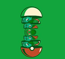 Russian Dolls Grass Pokemon by warriorhel3