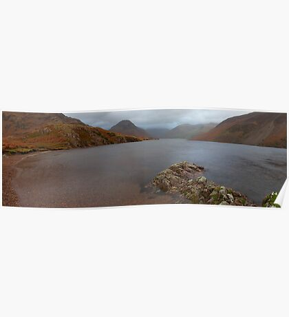 Wast Water Shore Poster