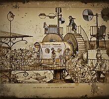 Les Tours Travel Machine by dianegaddis