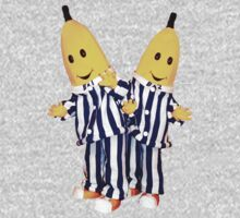 Bananas in Pajamas - B1 and B2 One Piece - Short Sleeve
