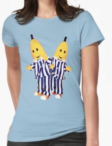 Bananas in Pajamas - B1 and B2 Womens Fitted T-Shirt