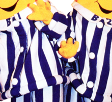 Bananas in Pajamas - B1 and B2 Sticker