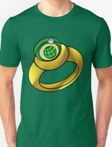 Planeteer Ring - Earth - Large image T-Shirt