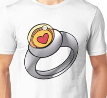Planeteer Ring - Heart - Large image Unisex T-Shirt