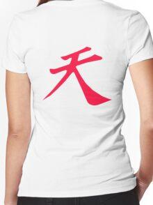 Street Fighter - Raging Demon Women's Fitted V-Neck T-Shirt