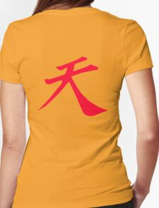 Street Fighter - Raging Demon Womens Fitted T-Shirt