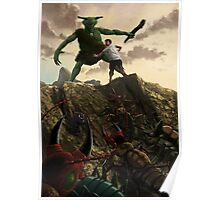 Pit of Giant Insect Monsters Poster