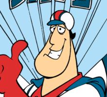 Super Dave: Daredevil for Hire - Logo Sticker