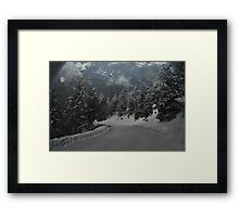 """The new Ice Age"" Framed Print"