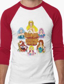 She-Ra Princess of Power - Girls of The Great Rebellion - Color Men's Baseball ¾ T-Shirt