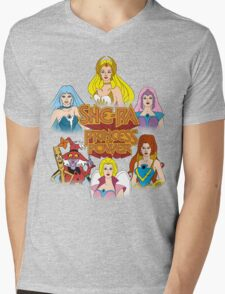 She-Ra Princess of Power - Girls of The Great Rebellion - Color Mens V-Neck T-Shirt