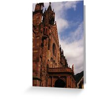 Church of Freiburg Greeting Card